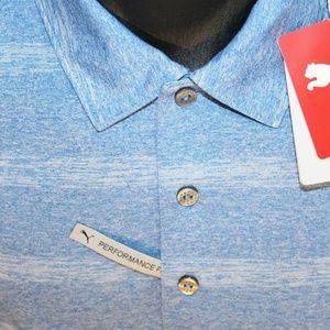 Puma Shirts - NEW Puma Pounce dryCell Performance Golf Polo, M